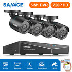 SANNCE 8CH 960H HDMI DVR 800TVL IR Outdoor Security Camera Surveillance System
