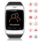 Touch Bluetooth Smart Watch Phone Call SMS Music Weather Sync For iPhone Android