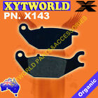 X143 Brake pads for Honda CBR 125 XL 125 CBR 150 HERO Karizma ZMR 230 AJS CR3