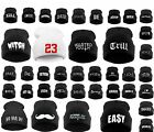 Winter BEANIE HAT Oversized HATS LA Bad Hair Day, Swag ,Cash ,Easy ,Meow Ski LA