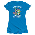 DC Comic Girl Can Do It Better WonderWoman Batgirl Supergirl Junior SheerT-Shirt