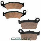Front Rear Brake Pads For Kawasaki KX250 KX250F 2004 2005 2006 2007 08 2009-2017