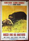 Rocco and his Brother Luchino Visconti Original Lebanese Movie Poster 60s