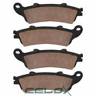 Front Brake Pads for Honda GL1800A Gold Wing 1800 Airbag / Navi 2001-2016