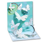 Floating Butterflies Pop Up Greeting Card Greeting Card by Up With Paper