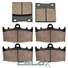 Front Rear Brake Pads for Suzuki GSX-R750 GSXR750 2000-2003 / TL1000S 1997-2001