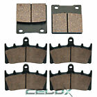 Front and Rear Brake Pads for Suzuki GSX-R750 GSXR750W 1996 1997 1998 1999