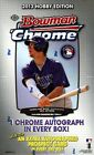 2013 Bowman Chrome Baseball Hobby 2 Box lot