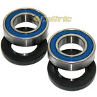 Front Wheel Ball Bearings Seals Kit Fits KAWASAKI VN2000 Vulcan 2000 Classic LT
