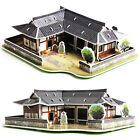 [Korean Toys] 3D Puzzle Korean Traditional Tiled Roof House (41 Pieces)
