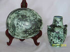 Jacques Blin Master French Ceramist Mid Century Sgriffito Art Pottery Vase/Bowl