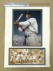 JACKIE ROBINSON BROOKLYN DODGERS 12X16 DOUBLE MATTED PHOTO & FIRST DAY COVER