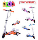 ADJUSTABLE TODDLER KID CHILD FOLDABLE SCOOTER 3 WHEEL OUTDOOR RIDE ON TOY