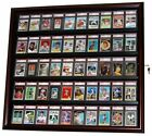 Sports Card Display Case Holds 50 Graded Ungraded Cards Baseball Football NBA