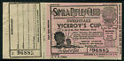 India 1937 Horse Racing ticket for Viceroys Cup in aid of Mayo Orphanage Simla