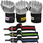 Power Weight Lifting Gym Training Bandages Fitness Straps Long Wrist Wraps 18