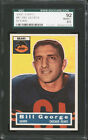 1956 TOPPS #47 BILL GEORGE HALL OF FAME ROOKIE CARD SGC 92 (NM-MT+ 8.5)