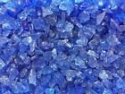 Crystal Blue Fire Glass Small Gas Firepits Gas Fireplace Landscape
