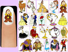 60x BEAUTY and the BEAST Nail Art Decals + Free Gift Disney Belle Chip Cogsworth
