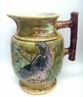 Museum Quality English Thomas Foster & Sons Staffordshire Majolica Water Pitcher