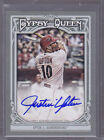 2013 Topps Gypsy Queen Autographs #JU Justin Upton Auto