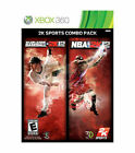 2K Sports Combo Pack: Major League Baseball 2K12/NBA 2K12  ** BRAND NEW **