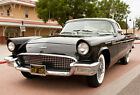 Ford  Thunderbird 2 door Convertible 1957 Ford Thunderbird Convertible Black 312cubic inch 245HP V8 LOW RESERVE