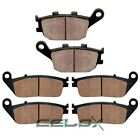 Front Rear Brake Pads For Honda VTX1300C 2004 2005 2006 2007 2008 2009