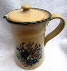 Home & Garden Party LTD Early American Classic Pottery Floral Pitcher 2002 U.S.A