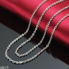FINE JEWELRY Solid Platinum 950 Necklace Women's O Chain / Pt950 /3.0