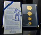 1990 California Gold Proof Four Coin Set w/ Box and COA... VERY RARE FIND!