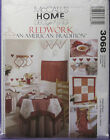 RETRO MCCALL'S APRON,TABLE COVER TOWELS & POTHOLDERS PATTERN 3068 TEN ITEMS