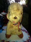 RARE VTG IDEAL IT'S A WONDERFUL TOY STUFFED CARNIVAL CIRCUS FAIR PRIZE DOG W TAG