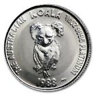 RARE ! ~1988~ $15 PLATINUM ~ KOALA BEAR ~1/10~OZ~ UNC GEM ~TINY MINTAGE ~$289.88