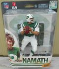 JOE NAMATH NY JETS MCFARLANE NFL LEGENDS ACTION FIGURE NIP 2014 SPORTSPICKS DEBU