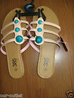 LADIES SANDALS SIZE 10   385 FIFTH  PINK