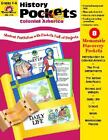 NEW History Pockets Colonial America Evan Moor Grade 4 to 6 8 pocket projects