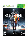 Battlefield 3  (Xbox 360, 2011) Single-player only.