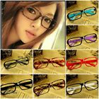 Trendy Korean Cute Decorative Colors Square Frame Glasses Without Lenses New