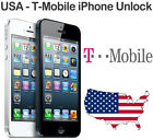T Mobile USA iPhone 5S 5C 5 4S 4 3GS 3G Permanent Factory Unlock Clean IMEI