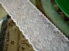 24 YDS BRIDAL WHITE CHANTILLY FLORAL BRIDAL Lace 5