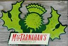 MACTARNAHANS BREWING CO PORTLAND OREGON TIN BAR ADVERTISING SIGN 15 X 10 HOP