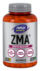 NOW Foods ZMA 180 Caps Zinc Magnesium Vitamin B6 Muscle Recovery