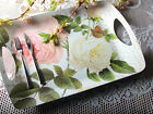 Creative Tops ROSE GARDEN Large Luxury MELAMINE SERVING TRAY