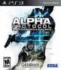 Alpha Protocol  (Sony Playstation 3, 2010) Used PS3 Games