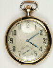 Elgin 1927 Pocket Watch - 12s, Grade 345, 17J. Dueber 14K Gold Anchor Case