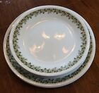 9 Corelle Crazy Daisy Spring Blossom Green Floral Dinner & Luncheon Plates