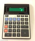 Casio JE-2 Vintage GREEN BACKLIGHT 10 Digit Basic Calculator RARE Japan 1980
