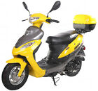 FREE SHIP ~NEW 2014 49cc Moped Gas Scooter Motor Bike STREET LEGAL, NO NEED M.L.
