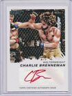 2011 Topps UFC Moment of Truth Autograph Red Ink #CSCB Charlie Brenneman 15